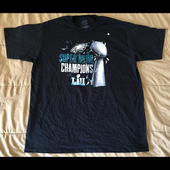 34d02c8795b Fanatics Shirts | Philadelphia Eagles Super Bowl Lii Shirt Sz Xl New ...